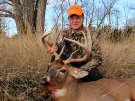 Nebraska Whitetail Deer - Steve
